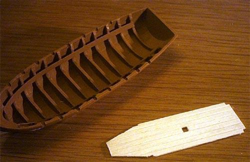 Wilfried's Baubericht zur Victory aus Holz und anderem Kram Lboot119