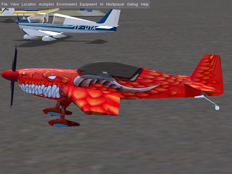 Projet : Un avion école de voltige, l'extra 300 L Fgfs-s65