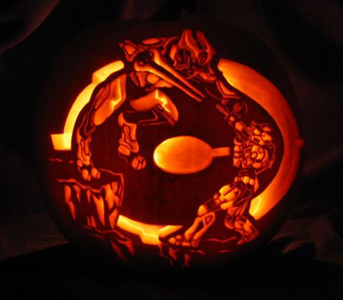 Halo Pumpkin  Rememb10