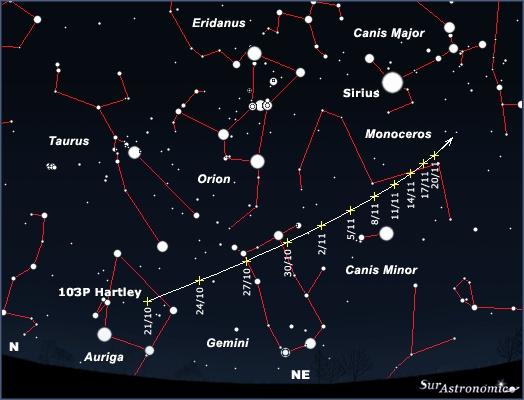 Cometa 103P/Hartley 2 Hartle10