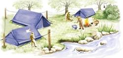 Camping das Olimpíadas
