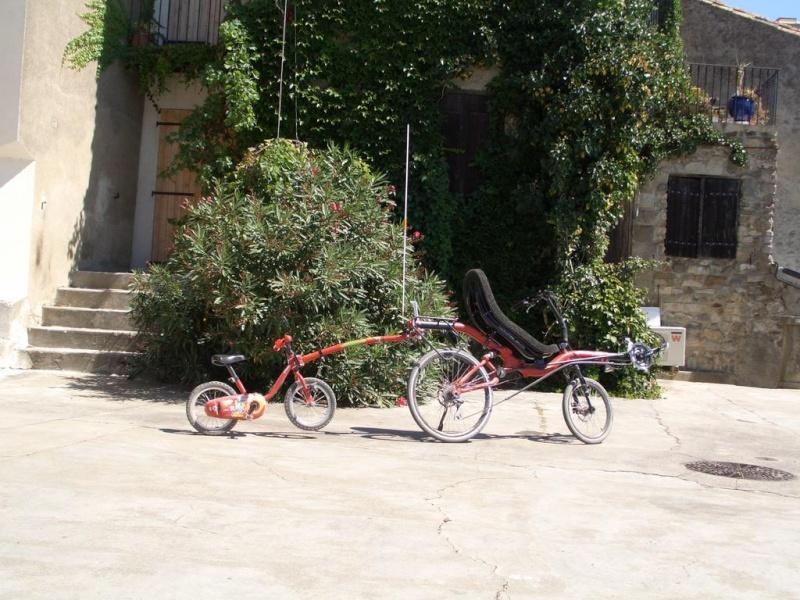 barre de traction trail gator et vélo couché azub Azub-t11