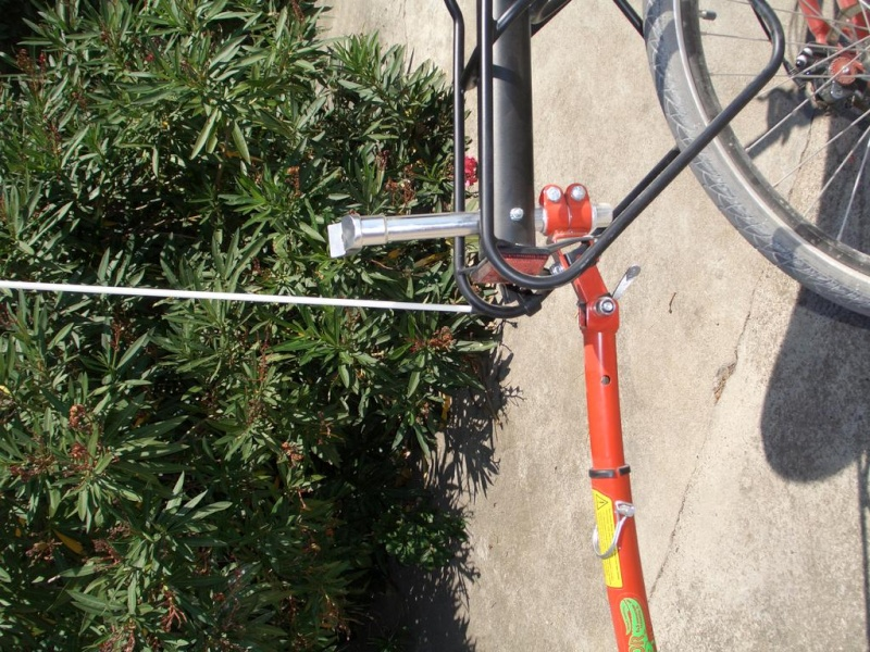 barre de traction trail gator et vélo couché azub Azub-t12