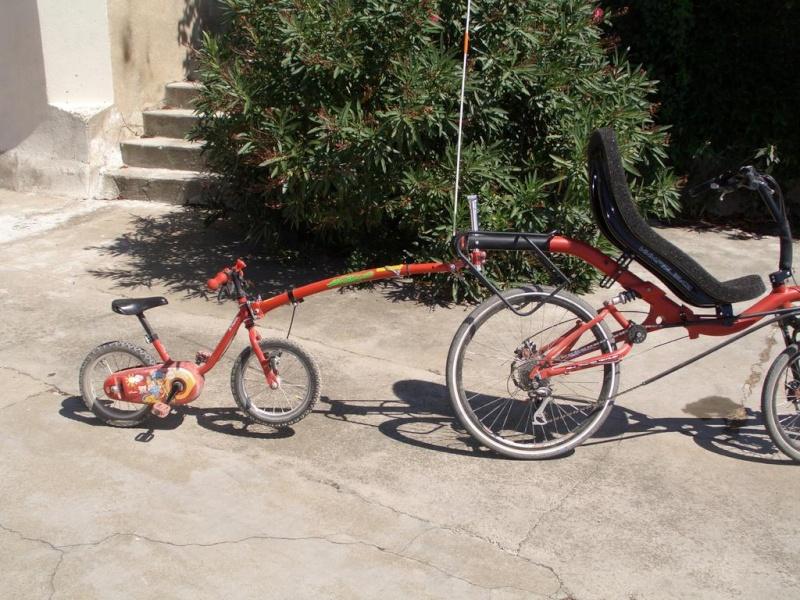 barre de traction trail gator et vélo couché azub Azub-t13