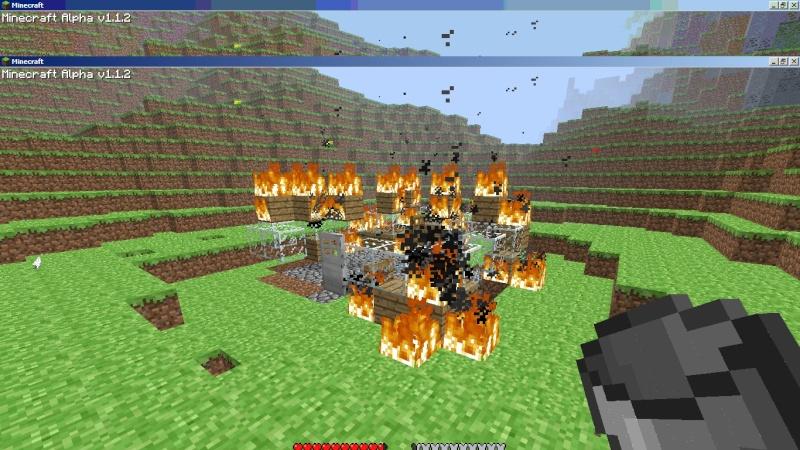 RIP minecraft house Minecr11