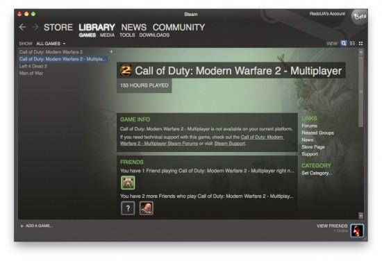 Steam for Mac Beta — первые скриншоты и инструкция по установке! Steam_14