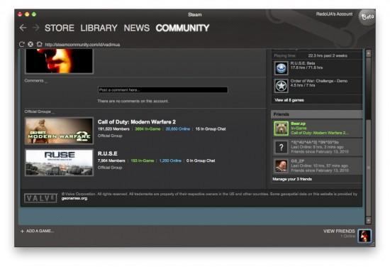 Steam for Mac Beta — первые скриншоты и инструкция по установке! Steam_15