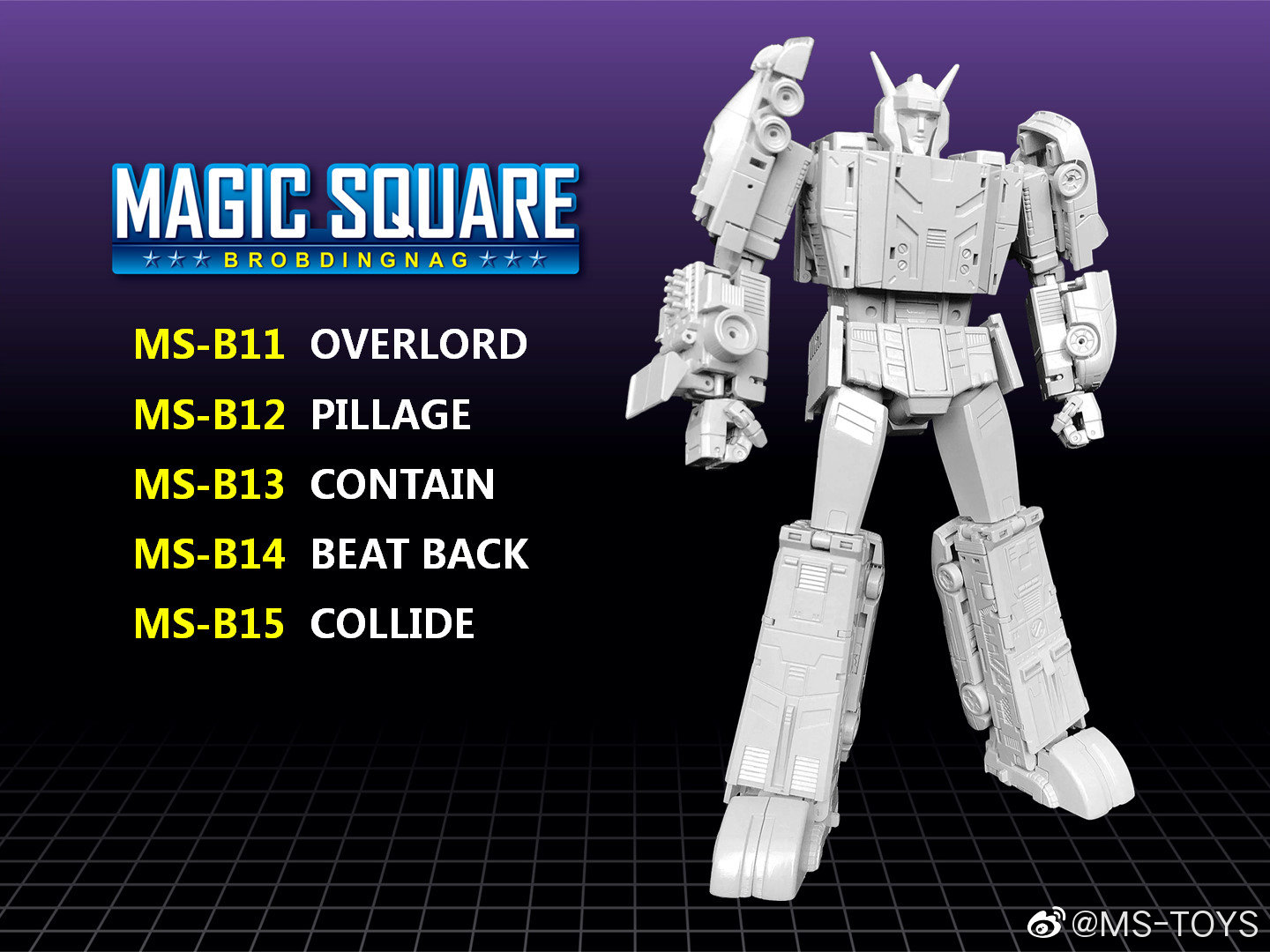 [Magic Square Toys] Produit Tiers - Jouets MS-Toys format Legend - Personnages G1 - Page 16 Img-3310