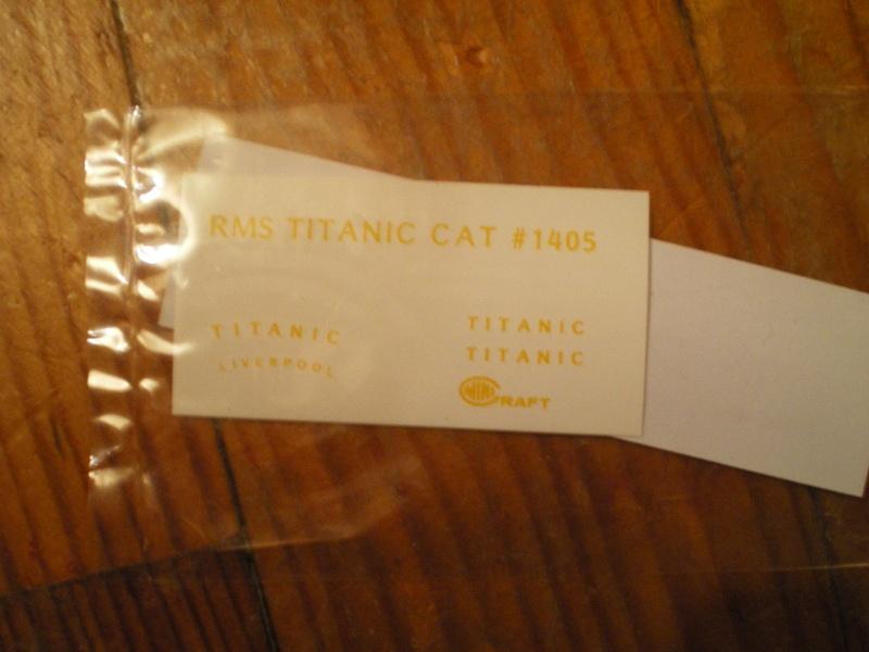 RMS Titanic par Titanic fan au 1/350 - Minicraft. Imgp2527