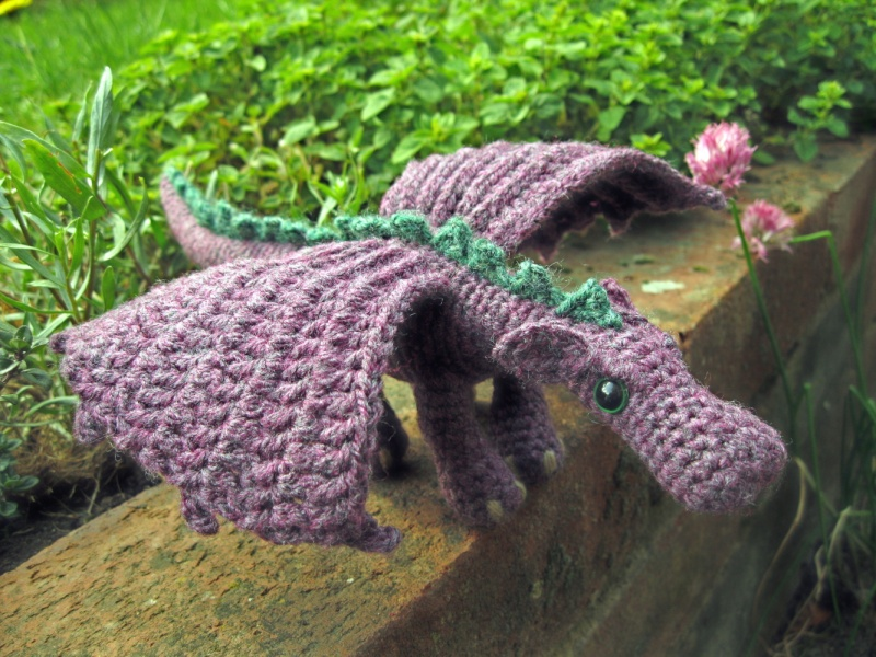 Crochet Chat /  flowers and Patterns Dragon10