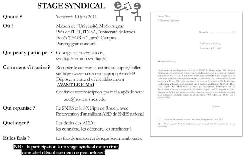 AED : 10 JUIN 2011,  stage d'info syndicale (ROUEN) 311