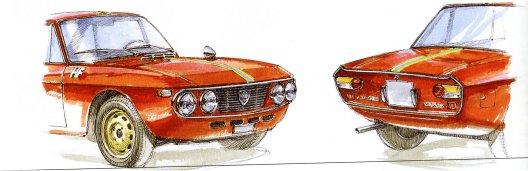 Galleria d'arte Lancia Fulvia Coupar13