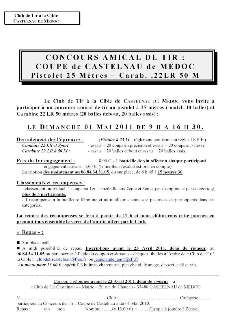CONCOURS AMICAL DE TIR Castel10