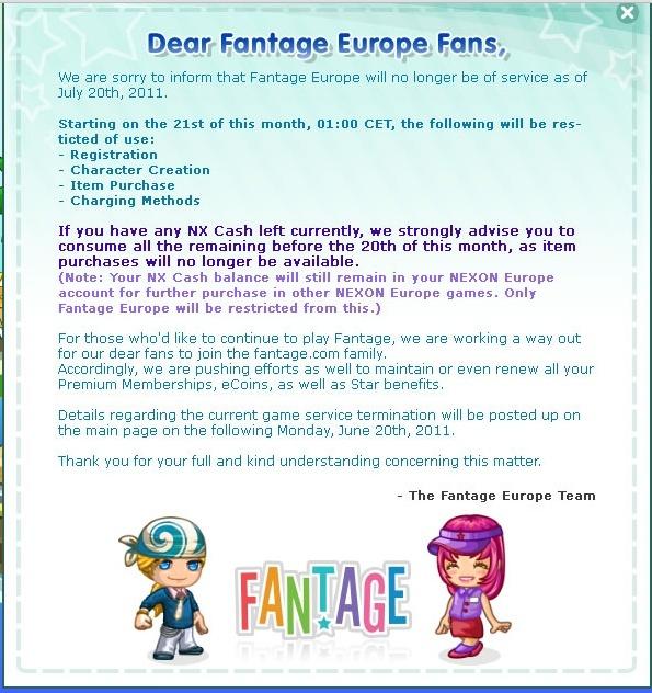 fantage europe...... Fantag10