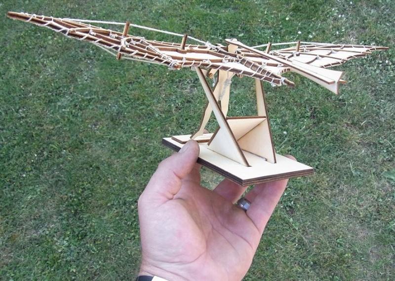 Leonardo da Vinci Flugmaschine Leovin14