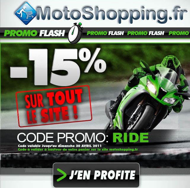 Code promo Motoshopping Fdf10