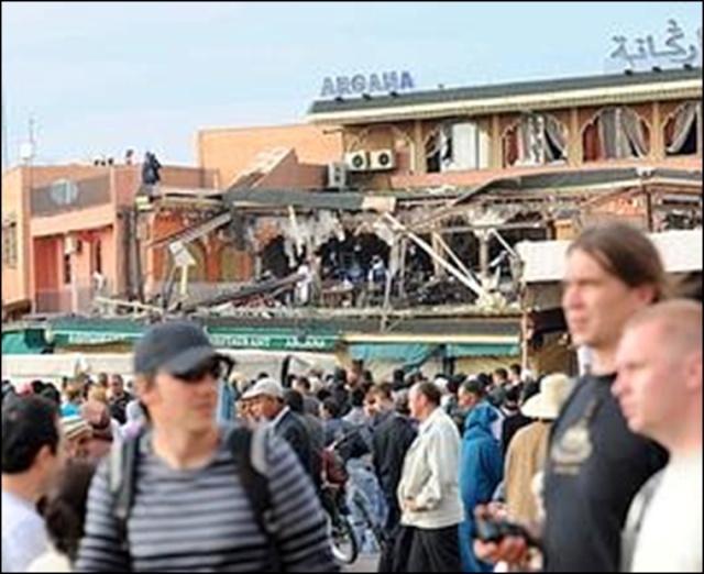 Attentat à Marrakech : 17 morts dont huit Français 7711