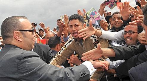 Au Maroc, Mohammed VI prépare le changement(Le Figaro) M610