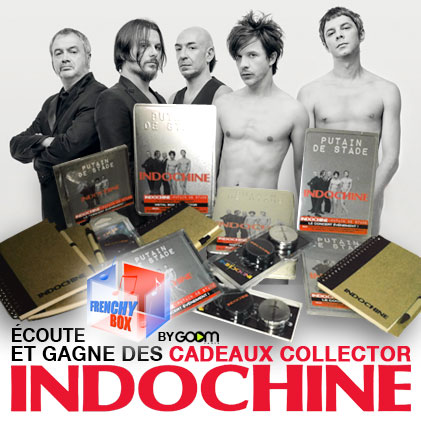 Indochine sur la Frenchy Box avec Goom Radio ! Indoch12
