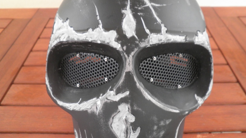 """Masque """"ARMY OF TWO"""" Grille10"""