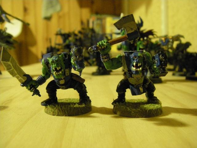 Mon petit clan ( enfin ce qui est peint) Imgp6111