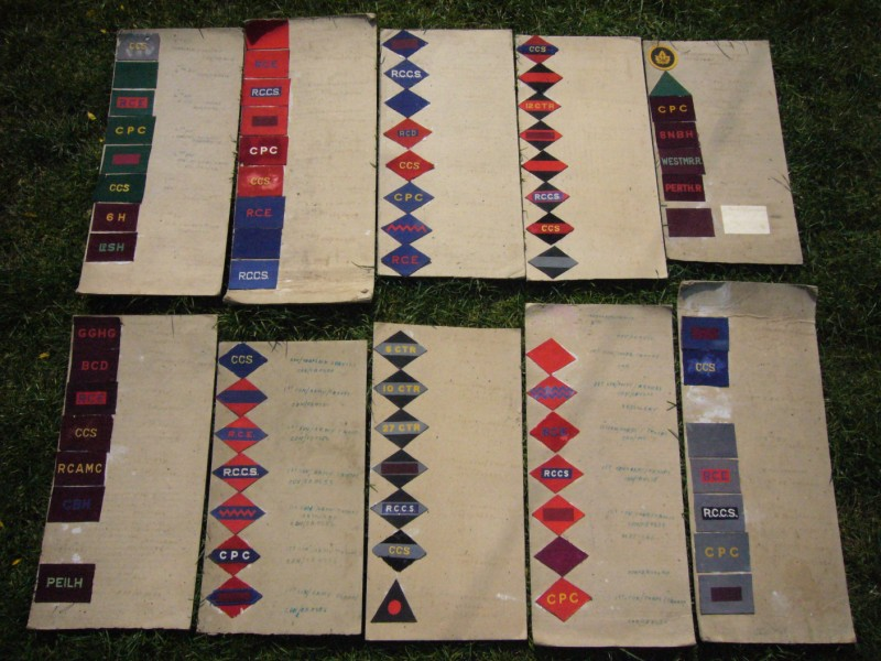 WWII Canadian Formation Patches  1427310