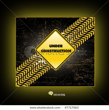 Under Construction Template Stock-10