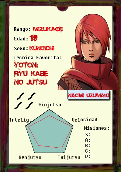 Ficha ninja visual de Naomi Fichac10