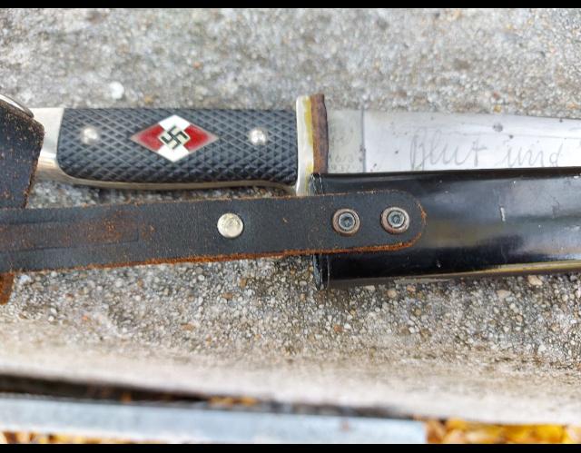 Dague SA et couteau HJ  3b486310