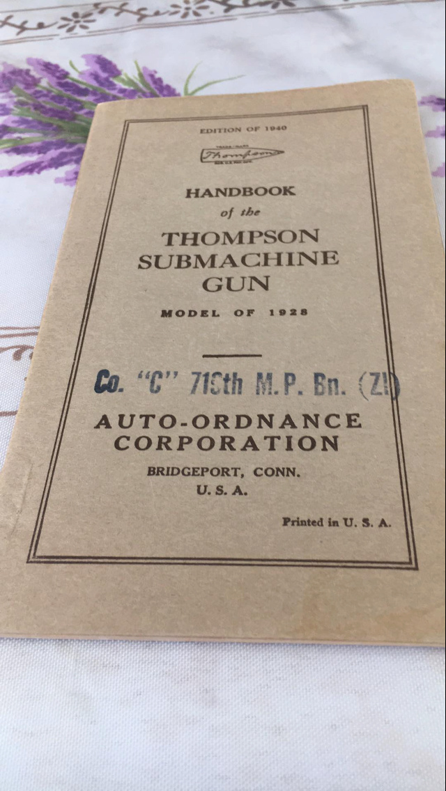 Datation Thompson model 1921 8b974810