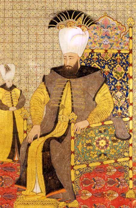 15th century Turkish Men's Clothing Levni_10