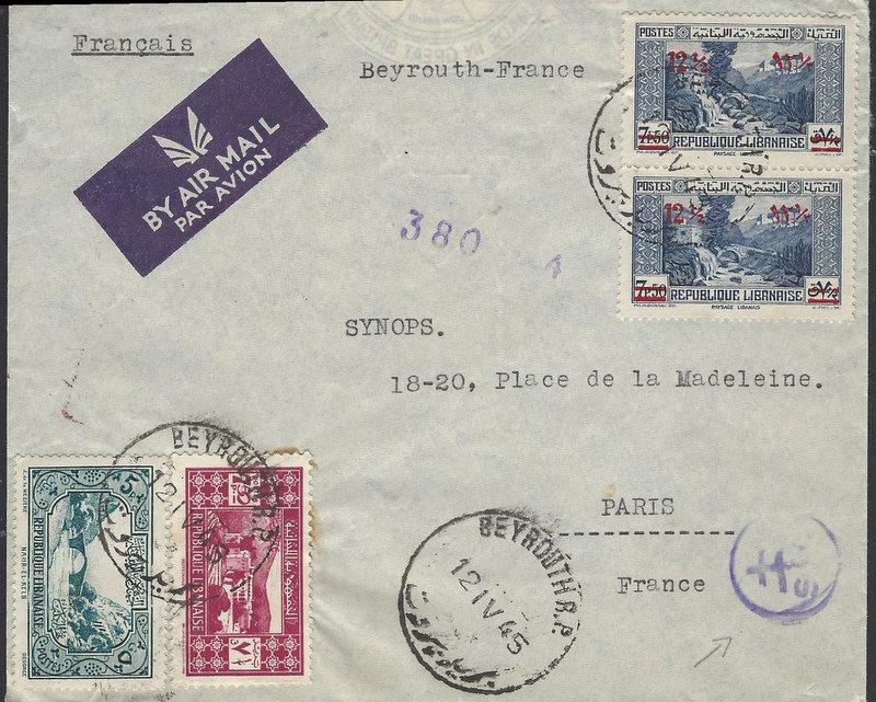 Cachet de la Libération? Beyrou11