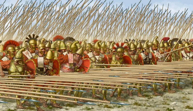 Dinámica de las Batallas Falang10