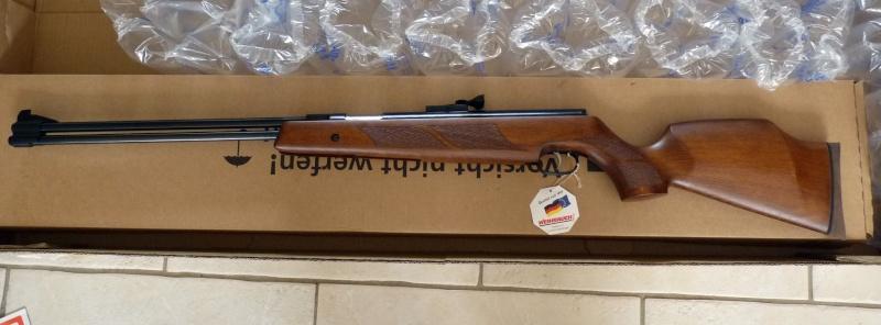 sportwaffen -  j'ai reçu mon colis sportwaffen-schneider HW77 P1020918