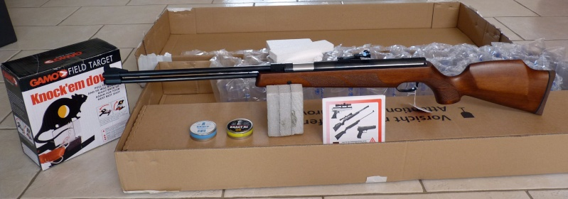 sportwaffen -  j'ai reçu mon colis sportwaffen-schneider HW77 P1020919