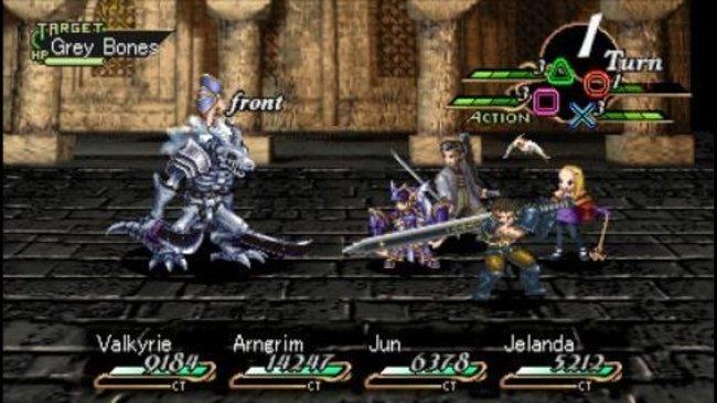 [TEST] Valkyrie Profile (PS1, PSP) Combat10