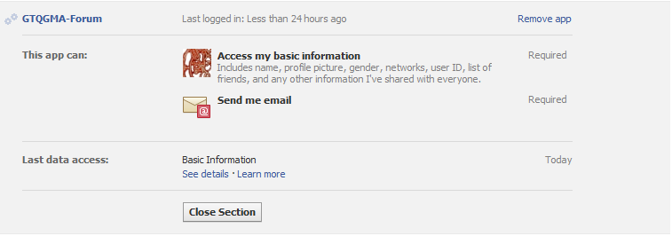 How to Check Facebook Permissions Screen13