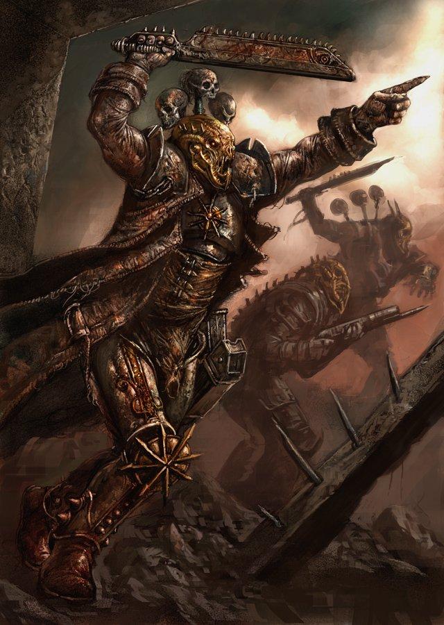 Un petit mix d'image trouver dans une tanière Ork! Bloodp10