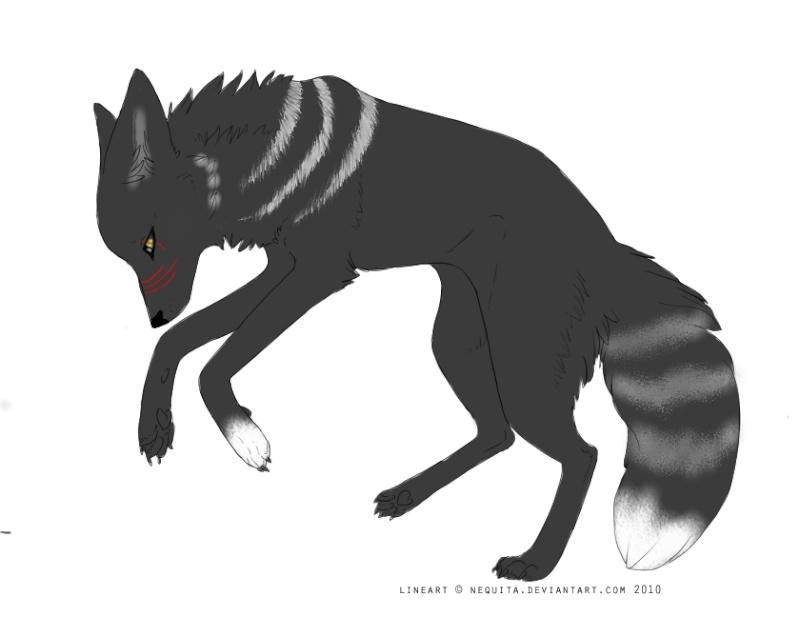キツネ カラス 牙 (Kitsune Raven Fang) Shadow10