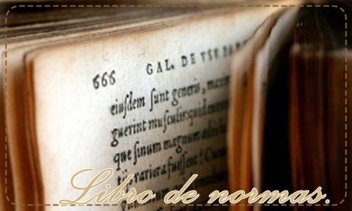 Normas. Lectura obliatoria Libro-10
