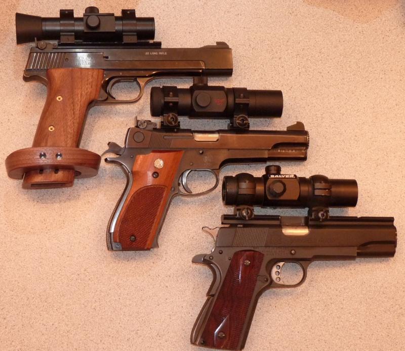 Show Me Your Bullseye Pistols 3gun10