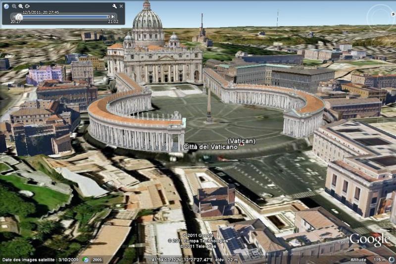Grands Monuments du Monde en structure 3D [Sketchup] Place_11