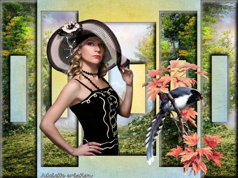 Défi du 5-6 Novembre / Femme au chapeau 5_11_s12