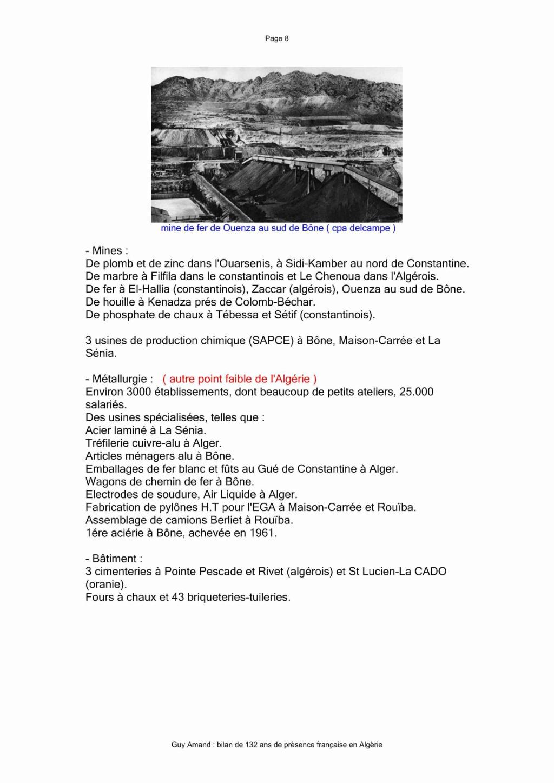 LA FRANCE N'A PAS A ROUGIR de ce qu'elle a fait en ALGERIE 26-bil18