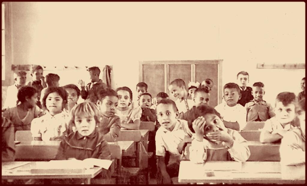 ARCHIVES ALGERIE 1960 racisme à l'Ecole de CLINCHANT  Classe10
