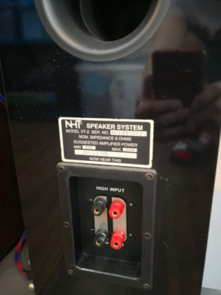 NHT VT2 Floorstand Speakers Img_2028
