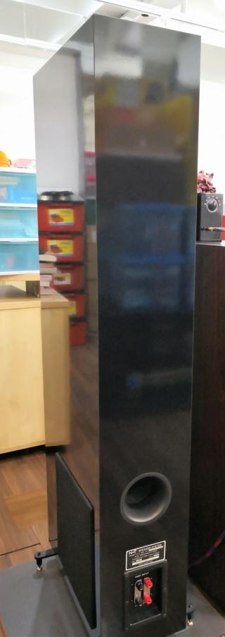 NHT VT2 Floorstand Speakers Img_2029