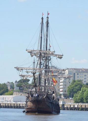 Le Galeon Andalucia était à Nantes. 00110
