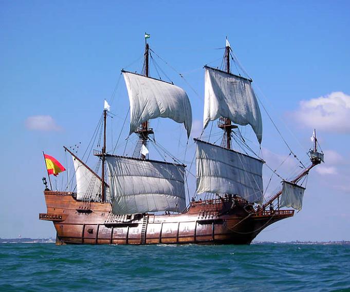 Le Galeon Andalucia était à Nantes. 00210
