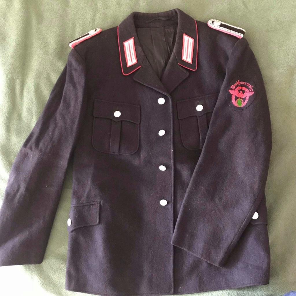 Vareuse officier pompier allemand ww2  Receiv20